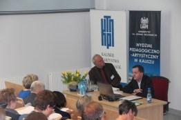 Referat wygłasza prof. Jakub Lewicki w Sesji 1, prowadzi prof. Jan Salm.
