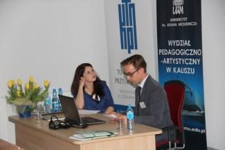 Ostatnią sesję VII prowadziła dr Joanna Bruś-Kosińska. Referat mgra Macieja Oleńskiego.
