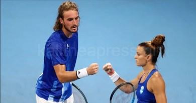 Πρόκριση για Τσιτσιπά-Σάκκαρη -Ολυμπιακοί Αγώνες Μικτό Διπλό στο Τένις
