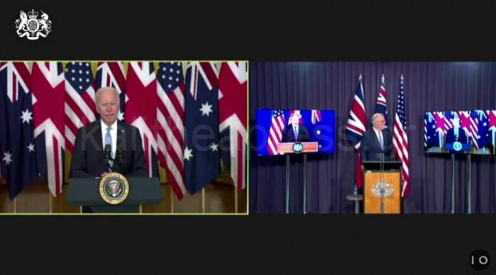 Συμμαχία Ασφάλειας ΗΠΑ Αυστραλίας Αγγλίας