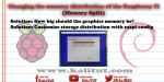 Split Raspberry Pi Memory
