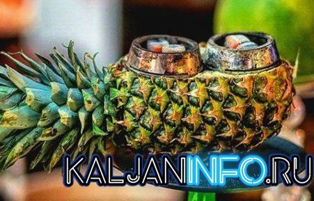Как выбрать ананас  для кальяна.