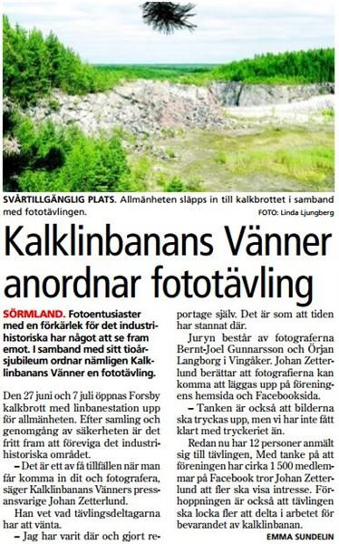 14 juni 2012 - Tidningen Folket