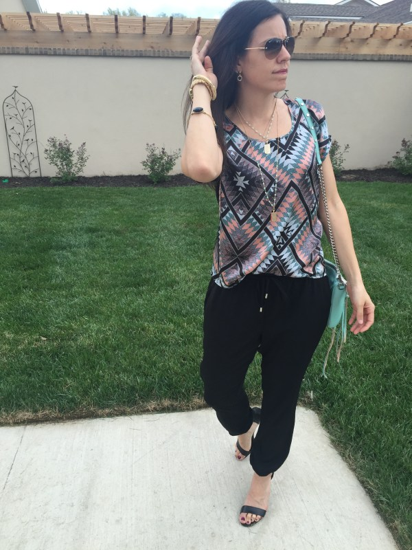 The Jogger Pant   how to style the jogger pant   spring fashion   spring style   styling for spring and summer   warm weather fashion   fashion tips