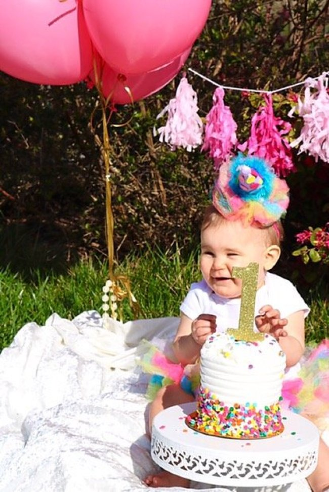 Amelias first birthday