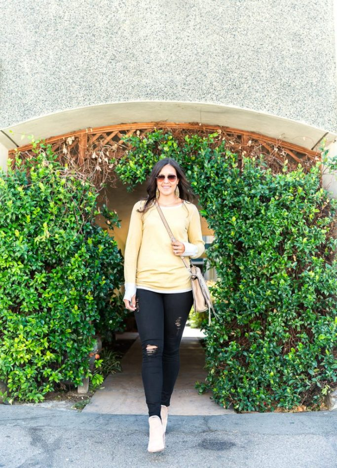 Styling a reversible top