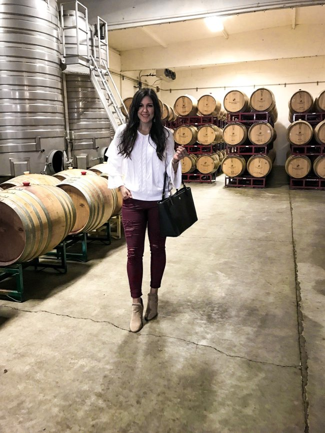 wine tasting in Healdsburg