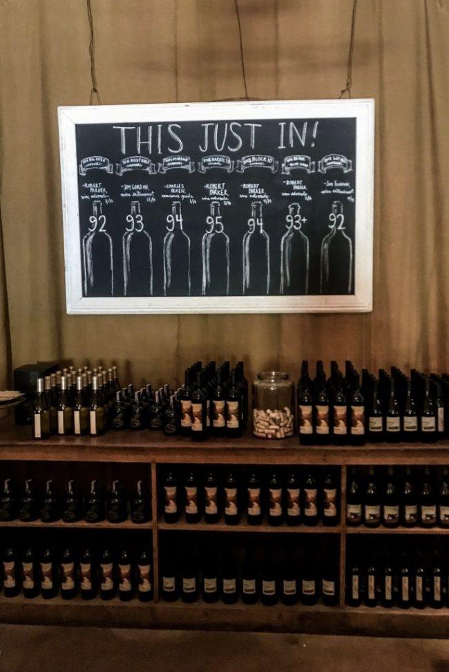wine tasting in Healdsburg