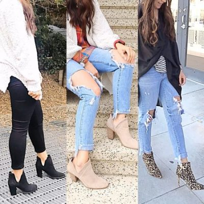 The Three Booties You Need This Fall