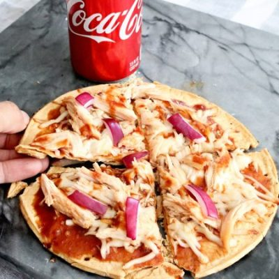 Coca-Cola BBQ Sauce Chicken Pizza