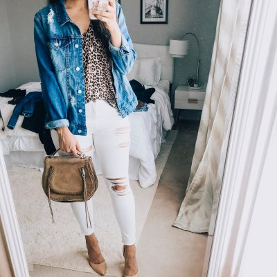 What To Wear Wednesday: White Jeans Outfits