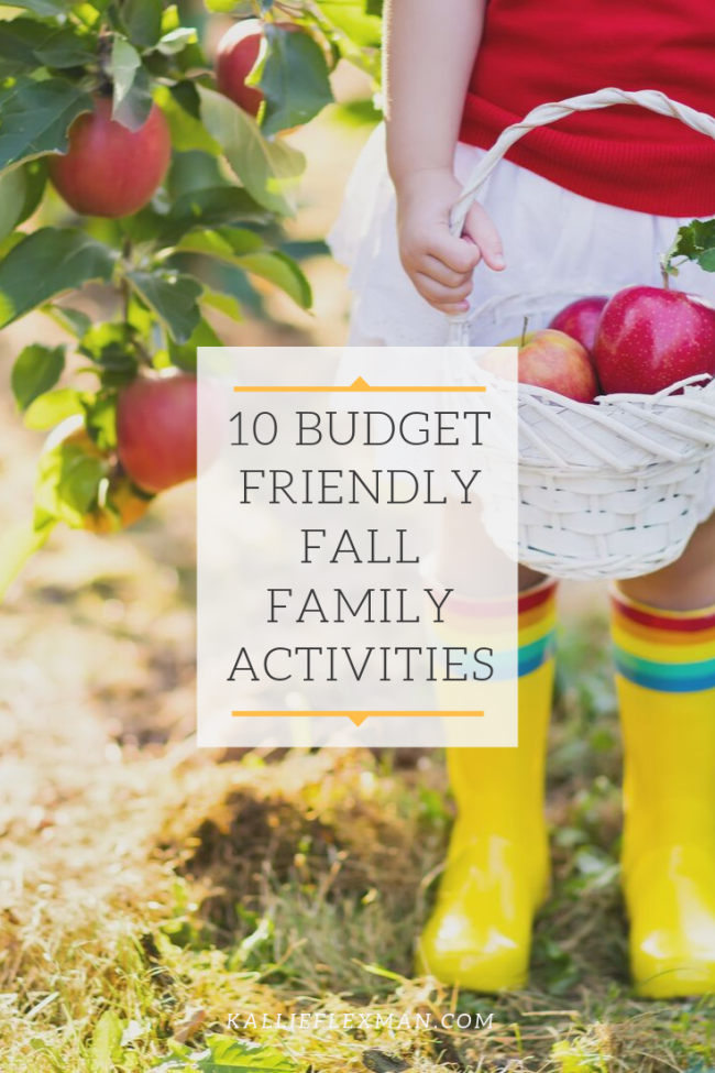 10 Budget Friendly Fall Family Activities