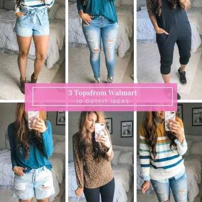 What To Wear Wednesday: Styling 3 Tops From Walmart