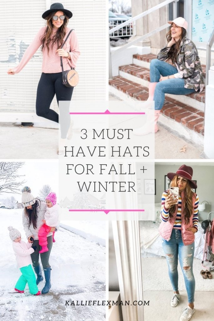 Must have hats for Fall and Winter
