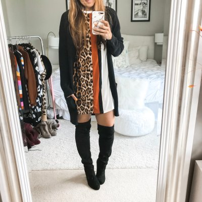 What To Wear Wednesday: Over Thee Knee Boot Outfit Ideas