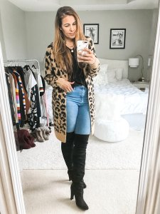 Over The Knee Boot Outfit