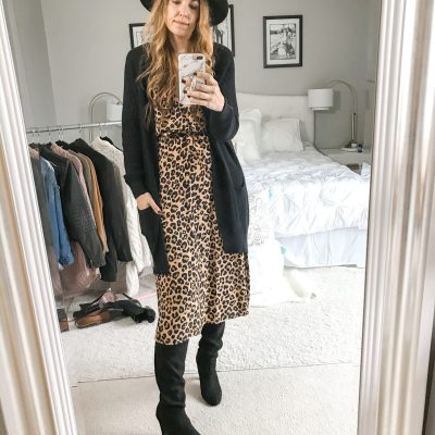 What To Wear Wednesday: 8 Ways To Style A Leopard Dress + $1,000 Giveaway