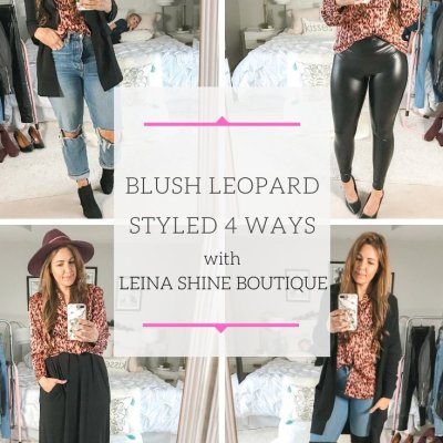 What To Wear Wednesday: 4 Ways To Style A Leopard Top