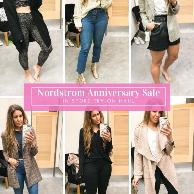 2020 Nordstrom Anniversary Sale: Try On Haul