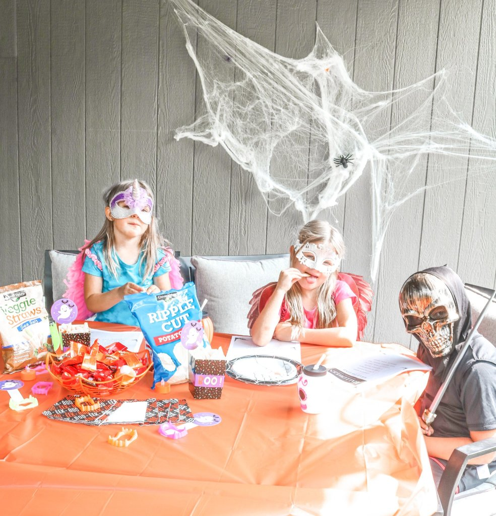 affordable halloween party idea-