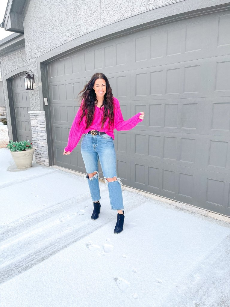 bright colors for winter