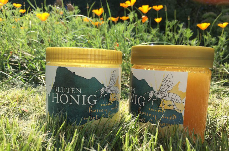 Ein Etikett für feinen Honig