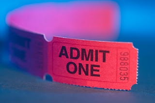Ticket to Admit one