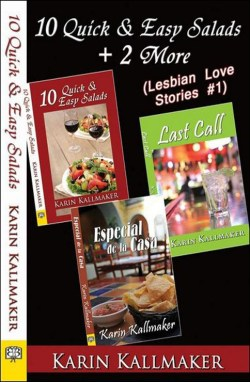 book cover 10 quick easy salads lesbian romance