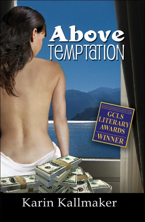 book cover above temptation lesbian intrigue