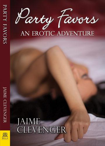 cover, party favors lesbian romance by Jaime Clevenger