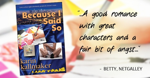 because I said so good romance with great characters review