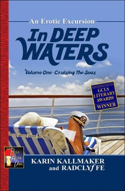 book cover lesbian erotica in deep water cruising seas