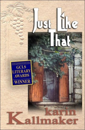 book cover just like that winery pride and prejudice