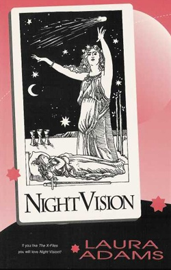 book cover night vision science fiction naiad