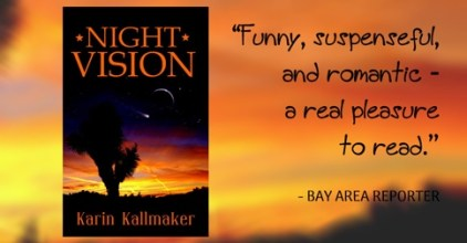 cover Night Vision a pleasure to read