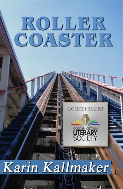 book cover roller coaster lesbian romance