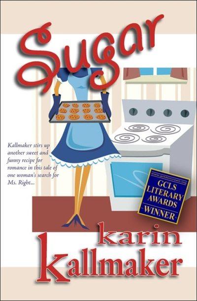 book cover sugar lesbian romance novel