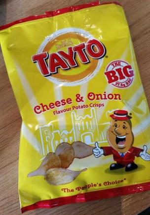 Tatyo Cheese and Onion Crisps