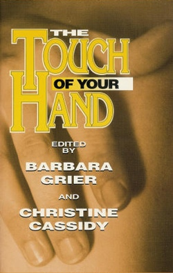 book cover touch of your hand naiad press
