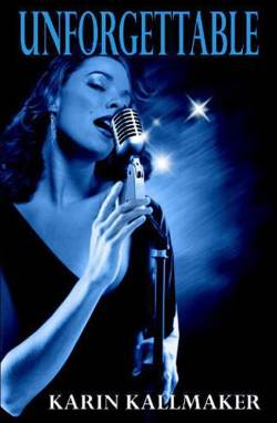 book cover unforgettable blue jazz singer