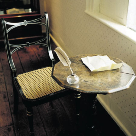 Photo, Jane Austen's writing desk