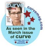 Curve Magazine featuring kd lang