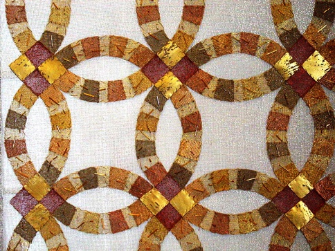 amish quilt ring pattern