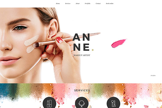makeupartist – Just another Kallyas Demo Sites site
