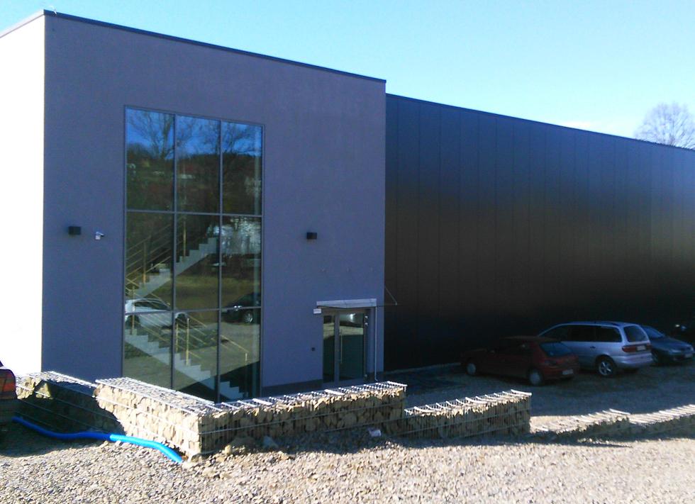 Budowa hali produkcyjnej i biurowej