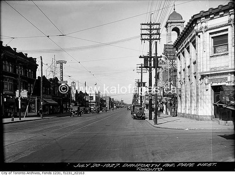 Photo courtesy of City of Toronto archives