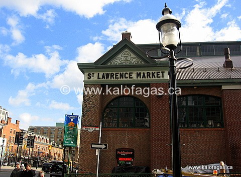 Toronto's Internationally famous St. Lawrence Market