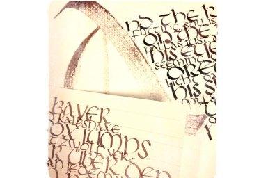 Calligraphy by Ka L-O-K