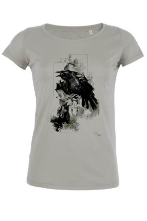 "T-Shirt HelvEdition ""Corvus Corvus"" by Ka L-O-K"