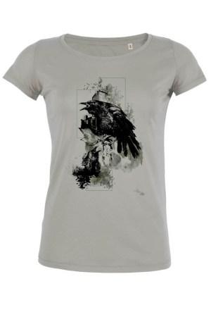 "T-Shirt HelvEdition ""Corvus Corvus"" by Ka L-O-K"